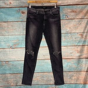 J Brand Distressed  Super Skinny Jeans Size 32